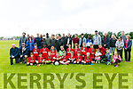 Tralee Dynamos Football Club medal presentation at Cahermoneen Football field on Saturday