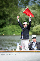 Henley Royal Regatta, Henley on Thames, Oxfordshire, 29 June-3 July 2015.  Thursday  10:50:15   30/06/2016  [Mandatory Credit/Intersport Images]<br /> <br /> Rowing, Henley Reach, Henley Royal Regatta.<br /> <br /> Sir Matthew Pinsent, CBE, Umpire