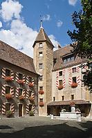 Europe/Suisse/Jura Suisse/ Neuchatel: Le Château