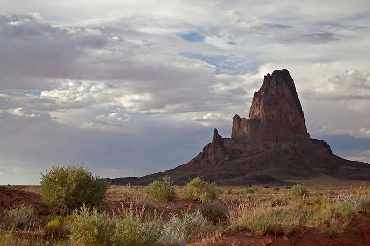 Agathla Peak, also known as El Capitan, on the Navajo Nation, Arizona, USA
