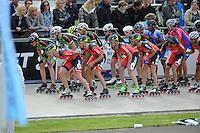 INLINE SKATEN: HEERDE: Europa Cup/Holland Cup 2014, ©foto Martin de Jong