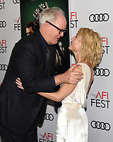 """16 November 2019 - Hollywood, California - John Lithgow, Gillian Anderson. AFI FEST 2019 Presented By Audi – """"The Crown"""" Premiere held at TCL Chinese Theatre. Photo Credit: Billy Bennight/AdMedia"""