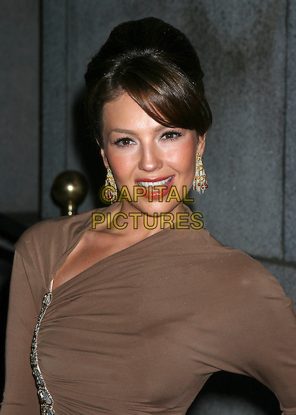 Tahlia .The Cipriani Wall Street Concert Series Presents Marc Anthony Hosted By De Grisogono.September 15, 2005 - The Cipriani Wall Street in New York City ..Ref: IW.portrait headshot bust.www.capitalpictures.com.sales@capitalpictures.com.©Capital Pictures