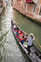 Italie, Vénétie, Venise:   Gondole      // Italy, Veneto, Venice: