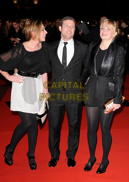 "DERMOT O'LEARY & GUESTS .At the UK Film Premiere of ""Valkyrie"", Odeon Leicester Square, London, England, January 21st 2009..full length back suit tie white shirt .CAP/CAN.©Can Nguyen/Capital Pictures"