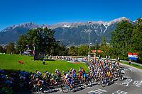 Picture by Alex Whitehead/SWpix.com - 28/09/2018 - Cycling - UCI 2018 Road World Championships - Innsbruck-Tirol, Austria - U23 Men's Road Race.