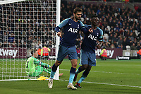 Fernando Llorente of Tottenham Hotspur celebrates scoring the third goal during West Ham United vs Tottenham Hotspur, Caraboa Cup Football at The London Stadium on 31st October 2018