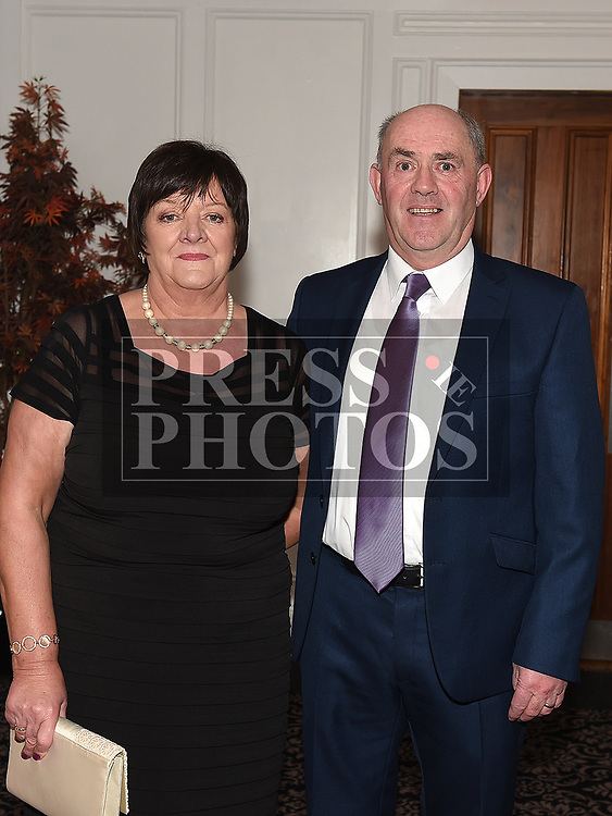 Gerard and Concepta Gargan at the Dreadnots GFC annual Dinner in the Westcourt Hotel. Photo:Colin Bell/pressphotos.ie