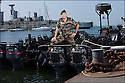 Juin 2010, Commandos Marine.<br /> CAPITAINE DE CORVETTE PATRICK ALBIERO,<br /> officier responsable de la logistique op&eacute;rationnelle &agrave; l'&eacute;tat-major de la Forfusco de Lorient.