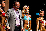 The first runner up Rachelle Fawcett in the Women's Model Physique category during the 2016 Hong Kong Bodybuilding Championships on 12 June 2016 at Queen Elizabeth Stadium, Hong Kong, China.  Photo by Victor Fraile / Power Sport Images