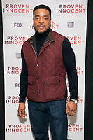 """NEW YORK - FEBRUARY 13:  Russell Hornsby attends a screening of FOX's """"Proven Innocent"""" at The Paley Center for Media on February 13, 2019 in New York City. (Photo by Ben Hider/Fox/PictureGroup)"""