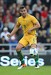 Bailey Wright of Australia during the International Friendly match at the Stadium of Light, Sunderland. Photo credit should read: Simon Bellis/Sportimage