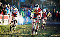 Laurens Sweeck (BEL/Corendon-Kwadro) lead the race early on<br /> <br /> CX Leuven Soudal Classic 2015