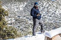 winter in Cananea, Sonora, Mexico. Snow in the Sierra la Mariquita and Sierra Elenita…<br /> (Photo by: GerardoLopez/NortePhoto.com )<br /> <br /> <br /> <br /> invierno en Cananea, Sonora, Mexico.  Nieve en la siera la Mariquita y sierra Elenita  <br /> (Photo by: GerardoLopez/NortePhoto.com )