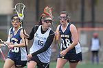 Santa Barbara, CA 02/19/11 - Hayleigh Garlow (CSU Fullerton #15) and Skyla Walcott( UC Santa Cruz #18) in action during the CSU Fullerton-UC Santa Cruz game at the 2011 Santa Barbara Shootout.