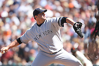 SAN FRANCISCO - June 24:  Roger Clemens of the New York Yankees pitches during the game against the San Francisco Giants at AT&T Park in San Francisco, California on June 24, 2007. Photo by Brad Mangin