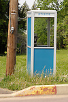 Bell Telephone booth in Laporte, PA