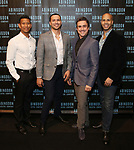 Albert Guerzon, Jeffrey Gorti, Josh Walden and Jody Reynard attends the Abingdon Theatre Company Gala honoring Donna Murphy on October 22, 2018 at the Edison Ballroom in New York City.