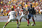 Mesut Ozil (GER), Paul Pogba (FRA), JULY 4, 2014 - Football / Soccer : FIFA World Cup Brazil 2014 quarter-finals match between France 0-1 Germany at Estadio do Maracana in Rio de Janeiro, Brazil. (Photo by FAR EAST PRESS/AFLO)