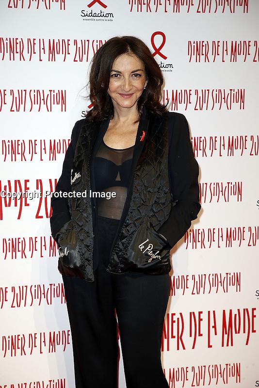 Nathalie Rykiel - Sidaction 2017 Fashion Dinner - 26/01/2017 - Paris - France # DINER DE LA MODE DU SIDACTION 2017