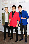 LOS ANGELES - APR 27: Emery Kelly, Jon Klaasen, Ricky Garcia, Forever in your mind at Ryan Newman's Glitz and Glam Sweet 16 birthday party at the Emerson Theater on April 27, 2014 in Los Angeles, California