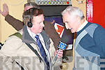 "Radio Kerry's Sean Hurley interviews Mossie Walshe from Lisselton at the recording of ""The Rambling House"" in Jessie James bar, Asdee on Friday night..   Copyright Kerry's Eye 2008"