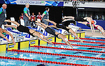 Wales Jemma Lowe and Alys Thomas in action during todays heats <br /> <br /> Photographer Ian Cook/Sportingwales<br /> <br /> 20th Commonwealth Games - Swimming -  Day 4 - Monday 28th July 2014 - Glasgow - UK