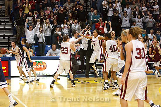Taylorsville - Mountain View vs. Springville High School girls basketball, 4A State Championship game Saturday February 28, 2009 at Salt Lake Community College..Andrew Blanchard