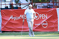Oliver Wilson (ENG) in action during the second round of the Magical Kenya Open presented by ABSA, played at Karen Country Club, Nairobi, Kenya. 15/03/2019<br /> Picture: Golffile | Phil Inglis<br /> <br /> <br /> All photo usage must carry mandatory copyright credit (&copy; Golffile | Phil Inglis)