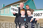 GENERATION GAME: The Savage family have seen three generations through the school gates of OBrennan National School, Kielduff but conditions are steadily worsening. Back l-r were: Gerry Savage and Brian Savage. Front l-r were: Sean and Rebecca Savage..
