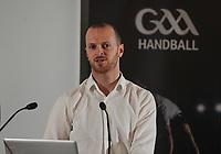 04/02/2018; GAA Handball Annual Congress 2018; Croke Park, Dublin;<br /> National Development Officer Darragh Daly<br /> Photo Credit: actionshots.ie/Tommy Grealy