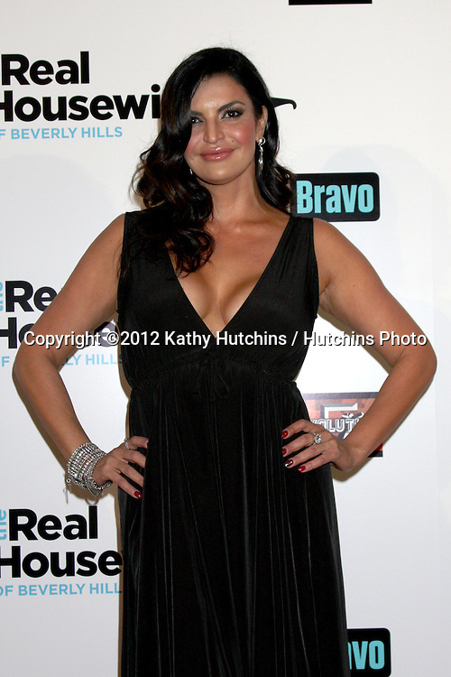 """LOS ANGELES - OCT 21:  Jennifer Gimenez arrives at  """"The Real Housewives of Beverly Hills"""" Season three premiere red carpet event at Roosevelt Hotel on October 21, 2012 in Los Angeles, CA"""