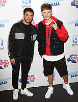 Jonas Blue and HRVY at the Capital FM Summertime Ball at Wembley Stadium, London on June 8th 2019<br /> CAP/ROS<br /> ©ROS/Capital Pictures