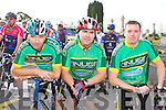 David Cullnane, Elaine Collins, Finbar Corcoran and Denis Kelliher at the Paud O Leary and Willie Reen Tour of Sliabh Luachra on Saturday