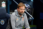 Liverpool's Jurgen Klopp looks on during the Champions League Quarter Final 2nd Leg match at the Etihad Stadium, Manchester. Picture date: 10th April 2018. Picture credit should read: David Klein/Sportimage
