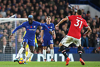 Tiemoue Bakayoko  of Chelsea in action during Chelsea vs Manchester United, Premier League Football at Stamford Bridge on 5th November 2017