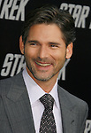 """HOLLYWOOD, CA. - April 30: Eric Bana arrives at the Los Angeles premiere of """"Star Trek"""" at the Grauman's Chinese Theater on April 30, 2009 in Hollywood, California.a"""