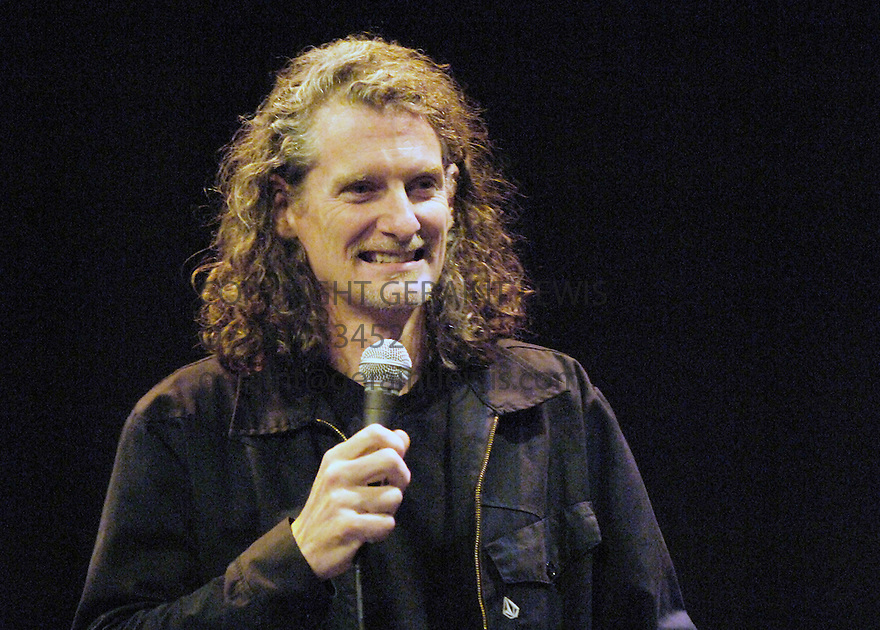 Dave Fulton performing at the Assembly at George Street at the Edinburgh Festival 2005. CREDIT Geraint Lewis