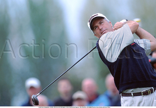 CURTIS STRAMGE (USA), Benson & Hedges International Open, The Belfry, 010509 Photo:Glyn Kirk/Action Plus....2001.Golf.golfer golfers