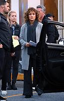 www.acepixs.com<br /> <br /> May 11 2017, New York City<br /> <br /> Actor Jennifer Lopez on the set of the TV show 'Shades of Blue' on May 11 2017 in New York City<br /> <br /> By Line: Zelig Shaul/ACE Pictures<br /> <br /> <br /> ACE Pictures Inc<br /> Tel: 6467670430<br /> Email: info@acepixs.com<br /> www.acepixs.com