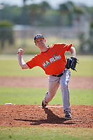 Miami Marlins pitcher Tyler Frohwirth (69) during a Minor League Spring Training Intrasquad game on March 27, 2018 at the Roger Dean Stadium Complex in Jupiter, Florida.  (Mike Janes/Four Seam Images)