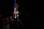 Flag Girl during second round of the Fort Worth Stockyards Pro Rodeo event in Fort Worth, TX - 6.29.2019 Photo by Christopher Thompson