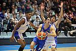 Liga LEB ORO 2017/2018 - Jornada: 8.<br /> CB Prat vs Rio Ourense Termal: 86-76.<br /> Martin Rodriguez vs Josep Perez.