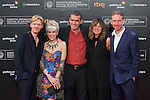 Movie director Rufus Norris and actors Anita Dobson, Clare Burt, Michael Schaeffer and Paul Thornley pose at the photocall before the official ceremony of the 63rd Donostia Zinemaldia (San Sebastian International Film Festival) in San Sebastian, Spain. September 26, 2015. (ALTERPHOTOS/Victor Blanco)