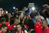BELO HORIZONTE, MG, 23.10.2013 - DILMA/PRONATEC/FORMATURA - A presidente da Republica Dilma Rousseff durante formatura de alunos do Pronatec no Chevrolet Hall regiao central de Belo Horizonte nesta quarta-feira, 23. (Foto: Sergio Falci / Brazil Photo Press).