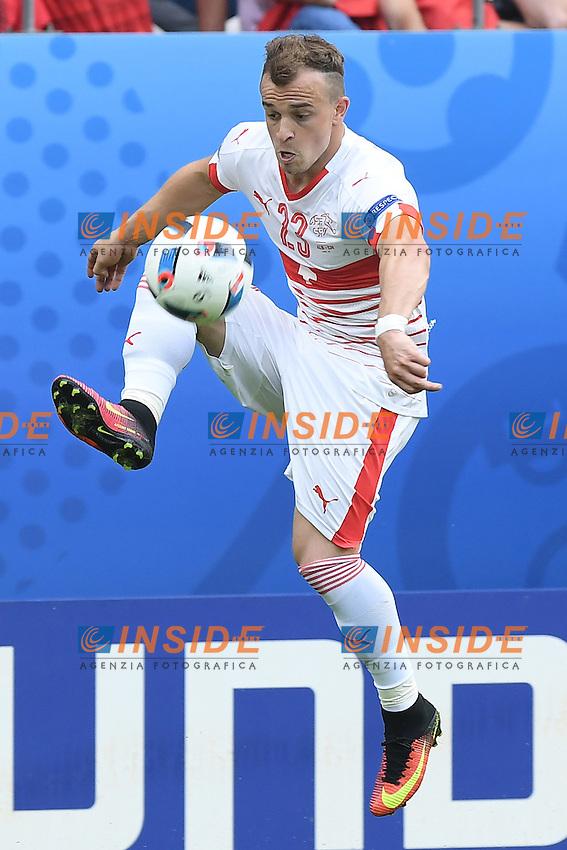 \Lens 11-06-2016 Stade Bollaert-Delelis Football  - Euro 2016 / Albania - Switzerland / foto Matteo Gribaudi/Image Sport/Insidefoto<br /> nella foto: Xherdan Shaqiri