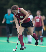 STANFORD, CA - November3, 2011: Becky Dru during the Stanford vs. Appalachian State opener of  the  NorPac Championship at the Varsity Turf on the Stanford campus Thursday afternoon.<br /> <br /> Stanford defeated Appalachian State 7-0.