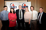 Pictured at an OCKT Chartered Accountants Budget Highlights Briefing in The Malton Hotel, Killarney on Wednesday were from left, Paul Murphy, OCKT, Margaret O'Connor, Edward Schmidt-Zorner, President, Killarney Rotary, Ciara Irwin-Foley, John o&quot;Sullivan and Paul Sherry.<br /> Photo: Don MacMonagle<br /> <br /> repro free photo