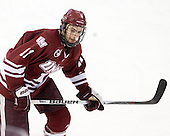 Chris Davis (UMass - 11) - The Boston College Eagles defeated the University of Massachusetts-Amherst Minutemen 6-5 on Friday, March 12, 2010, in the opening game of their Hockey East Quarterfinal matchup at Conte Forum in Chestnut Hill, Massachusetts.