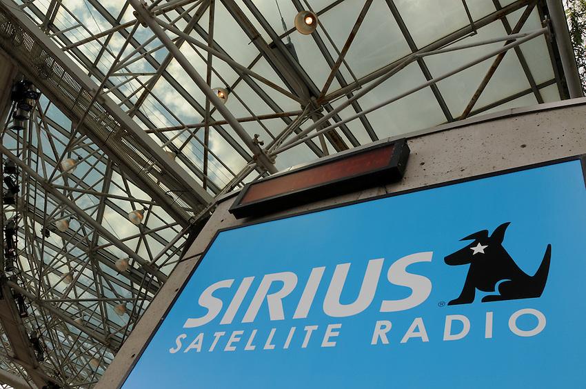 Sirius Satellite Radio Stage at Toronto's Harbourfront Centre